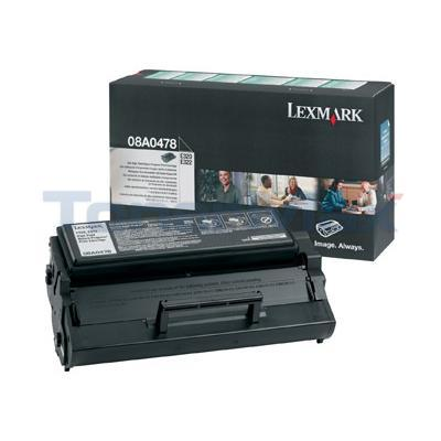 LEXMARK E320 TONER CARTRIDGE BLACK RP HY